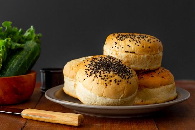 Булочки для гамбургера Бесплатные Фотографии