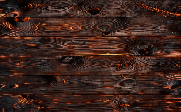Burned barbecue wall Premium Photo