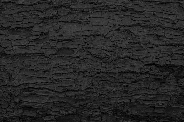 Burnt wooden texture background Premium Photo