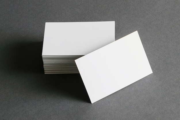Business card stationery concept Free Photo