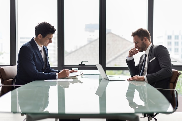 Business corporate colleagues co-workers job concept Premium Photo