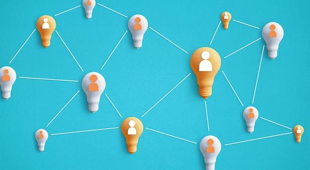 Business creativity idea concepts.