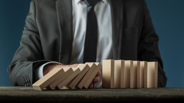 Business crisis management Premium Photo