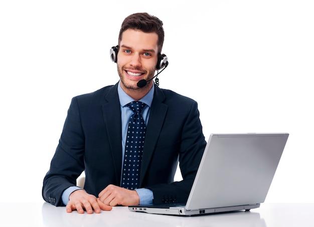 Business customer service Free Photo