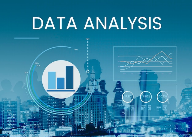 Business data analysis Free Photo