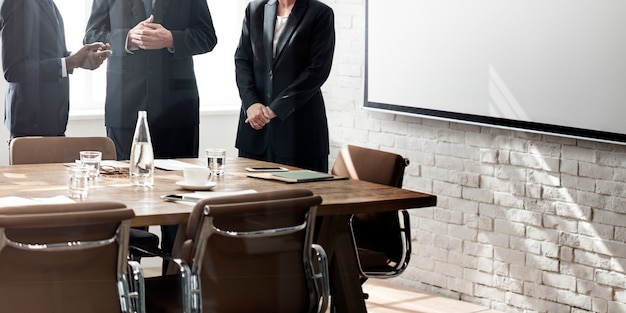 Business group meeting discussion strategy working concept Free Photo