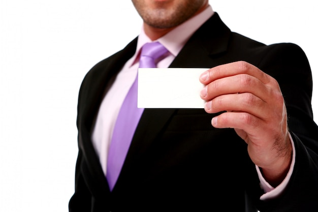 Business man isolated Free Photo