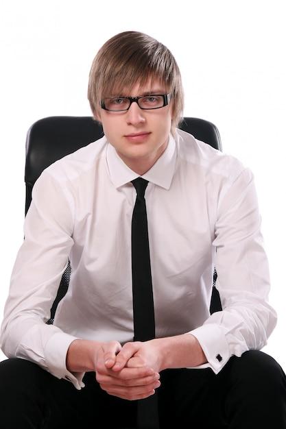 若くて魅力的なビジネスの男性 無料写真