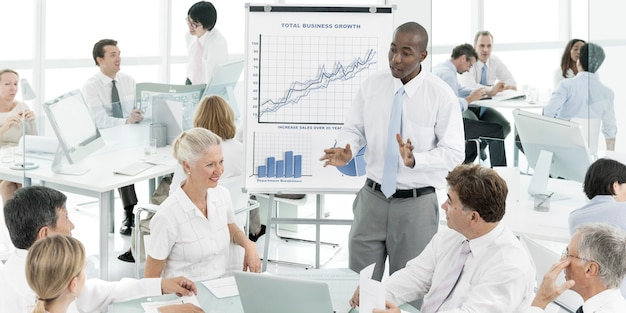 Business meeting corporate office concept Free Photo