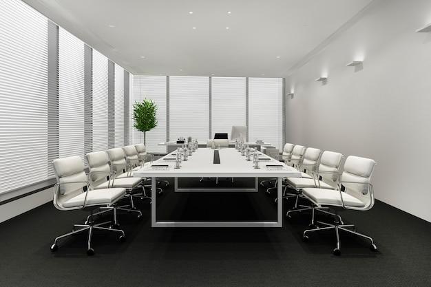 고층 오피스 빌딩 비즈니스 회의실 무료 사진