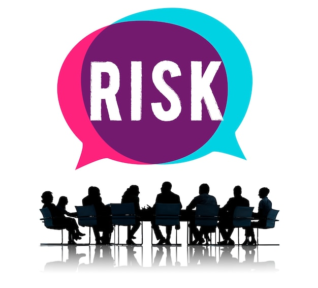 Business meeting talking about risk Free Photo