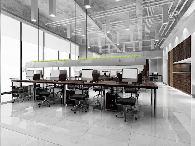Incontro di lavoro e sala di lavoro in edificio per uffici Foto Gratuite