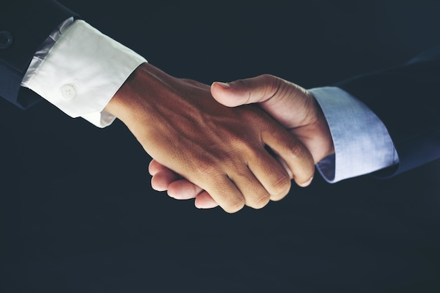 Business partnership meeting concept and business handshake Premium Photo
