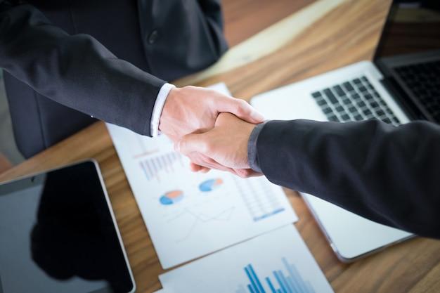 Business partnership meeting concept. Premium Photo