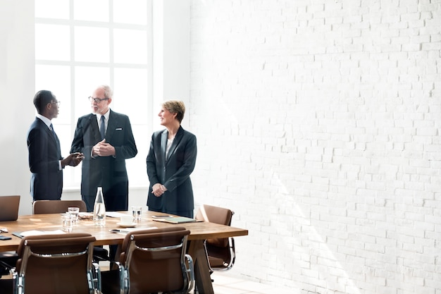 Business people networking Premium Photo