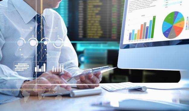 Business performance analysis Premium Photo
