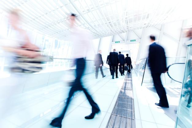 Business rush hour. Premium Photo