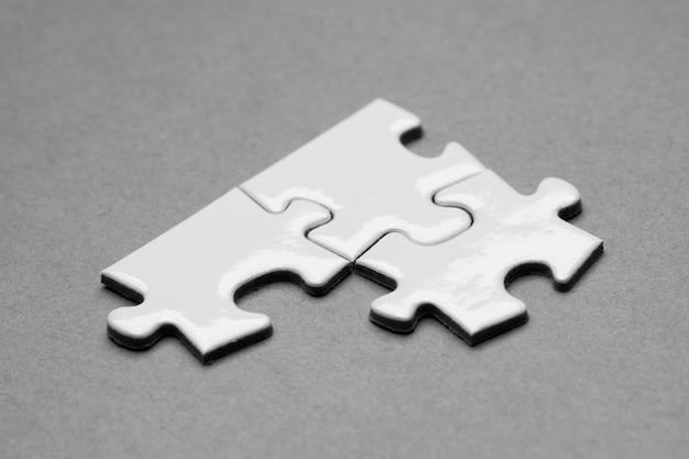Business success team in jigsaw Premium Photo