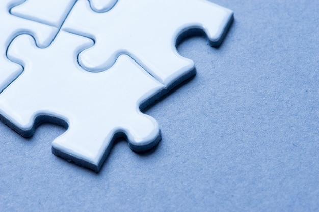 Business team, teamwork by jigsaw Premium Photo