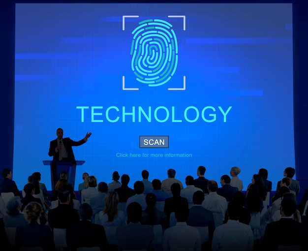 Business and technology Premium Photo