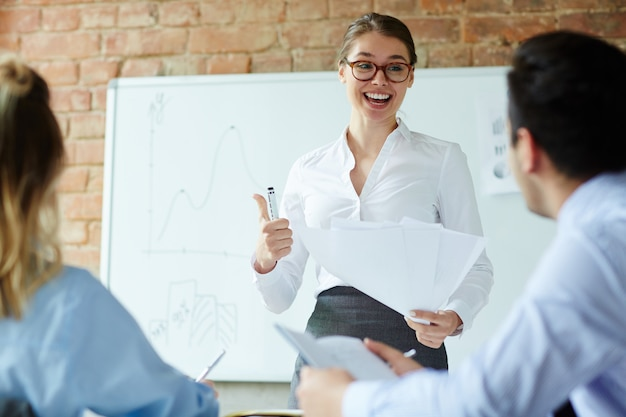 Business training Free Photo
