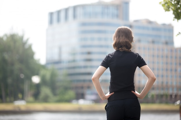 Business woman ready for challenge Free Photo