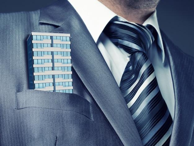 Бизнесмен крупным планом Premium Фотографии