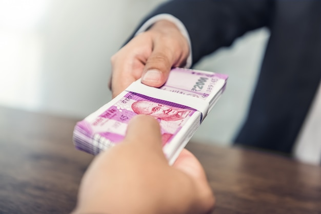 Image result for indian money giving