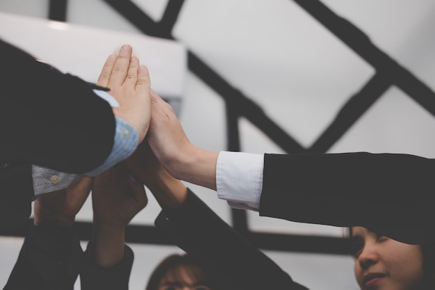 Clip Art Vector of Hands for Unity - illustration of hands ... |Touching Hands Together