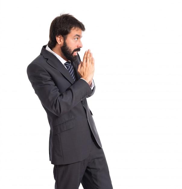 фото умоляющего человека инструмент отбелить выделить
