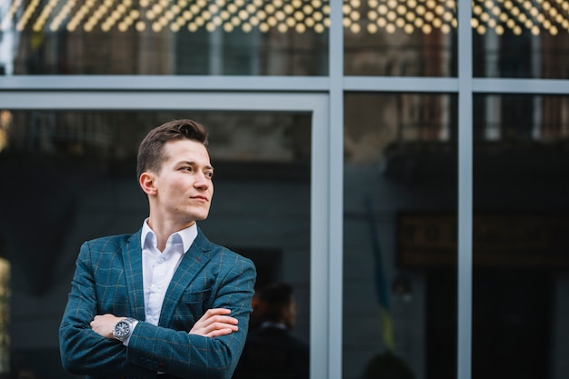 Businessman waiting Free Photo