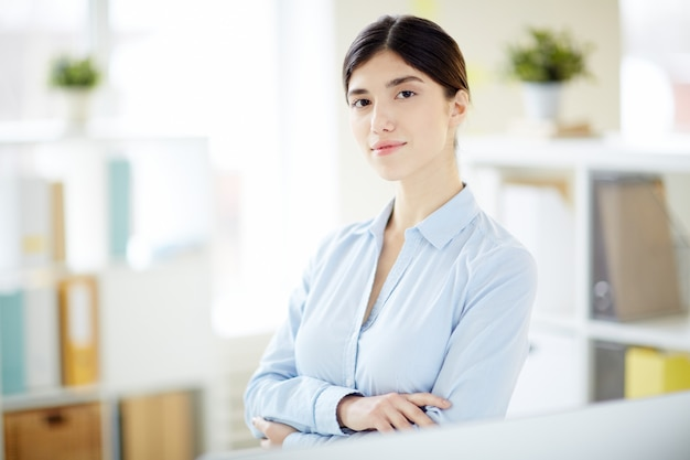 Businesswoman in office Free Photo