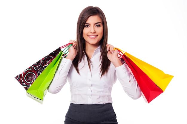 ショッピングの実業家 無料写真
