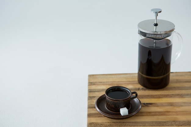 Cafetiere Black coffee