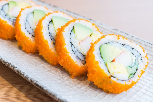 California sushi roll Free Photo