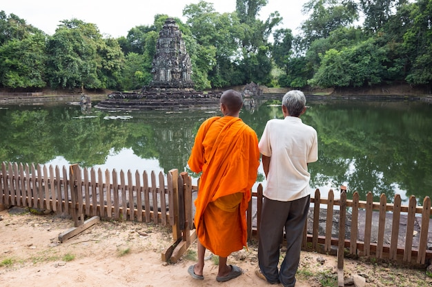 Камбоджа ангкор ват Premium Фотографии