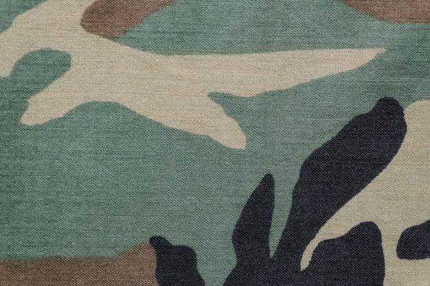 Camouflage fabric background Free Photo