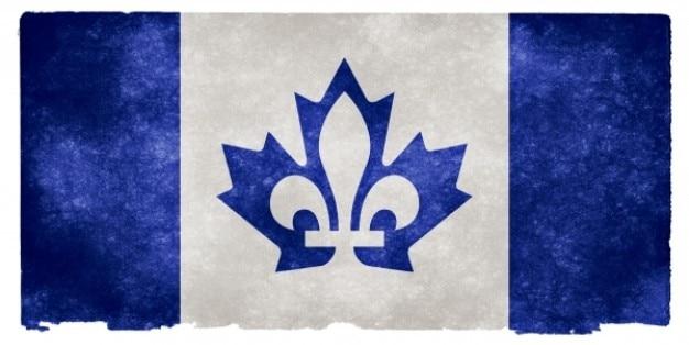 Canada fusion grunge flag Free Photo