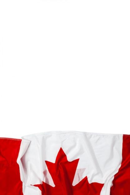 Canada waving flag Premium Photo