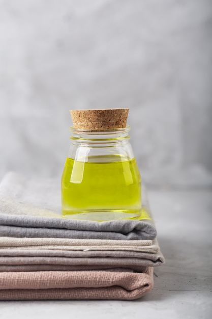 Cannabis oil extract and fabric produced using this plant Premium Photo