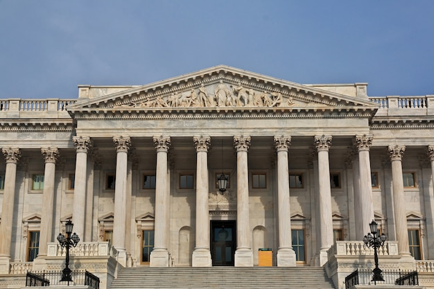 Capitol in washington, united states Premium Photo