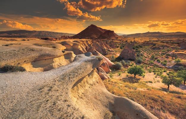 Cappadocia mountain landscape Premium Photo