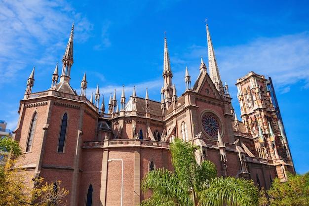 Capuchins church in cordoba Premium Photo