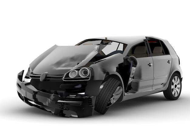 Car accident Premium Photo