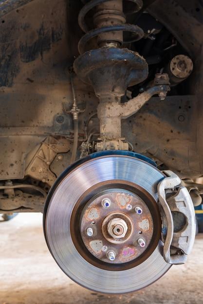 Car brakes system Free Photo