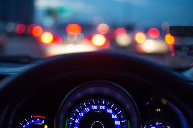 The car console Premium Photo