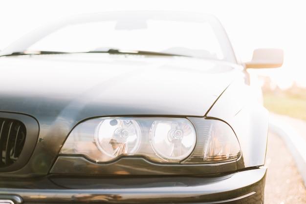 Car headlight Free Photo