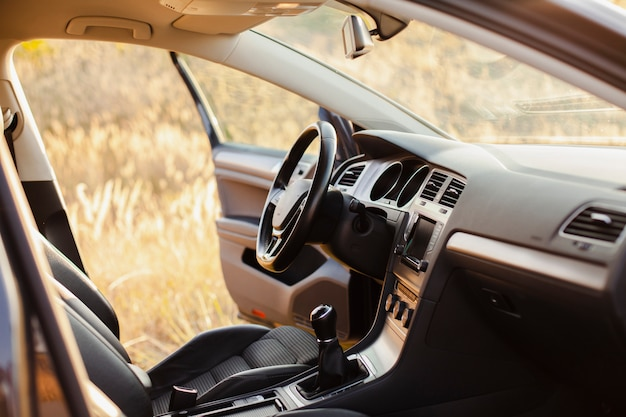 Car interior completion Free Photo