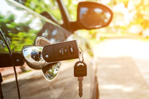車のカギ Premium写真