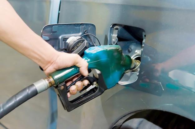 Car refueling Premium Photo